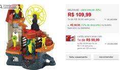 Imaginext Torre do Feiticeiro Mattel << R$ 9899 >>