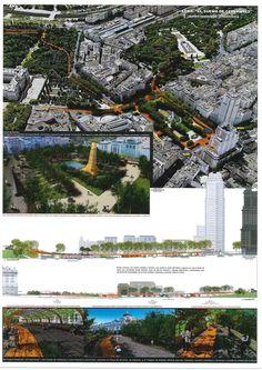Estas son las propuestas que compiten para remodelar la Plaza España en Madrid,El sueño de cervantes. Image © Difusión Ayuntamiento de Madrid
