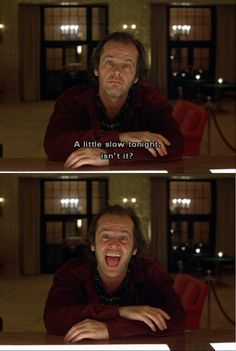 — The Shining Tv Series To Watch, Series Movies, Film Movie, Cinema Quotes, Movie Quotes, Scary Movies, Good Movies, 80s Movies, Movies Showing