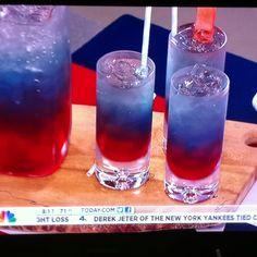 4th of July fun drinks!