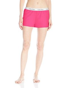 Calvin Klein Womens Shift Logo Short * More info could be found at the image url.