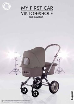 Viktor & Rolf with Bugaboo we <3