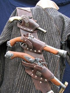 Tactical holster for steampunk pirates  - http://steamp.co/d/1295