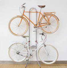 222 Diferentes soportes para guardar la bicicleta en casa