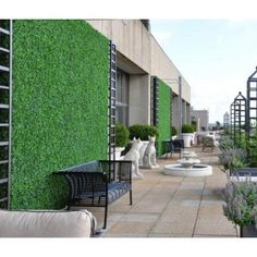 Greenwall - Artificial Boxwood Hedge Tiles