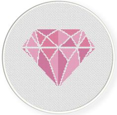 SALE Easy Stitch Diamond PDF Cross Stitch by DailyCrossStitch, $1.49