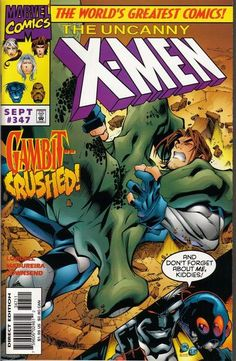 Cover for The Uncanny X-Men (Marvel, 1981 series) #347 [Direct Edition]