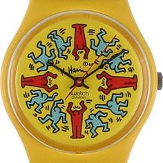 Swatch Modele-Avec-Personnages GZ100 - 1985 Spring Summer Collection