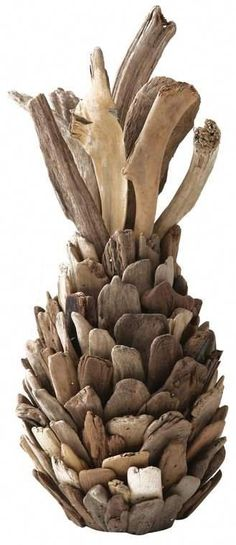 Bay Isle House Witherspoon Driftwood Pineapple Sculpture