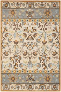 Safavieh Jardin JAR 726 Ivory, Blue (A) Area Rugs