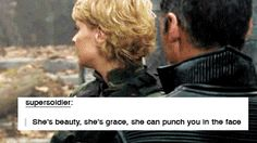 She is beauty, she is grace, she can punch you in the face. #stargate
