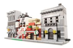 Mini modulars by brickcitydepot.com