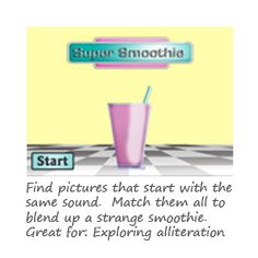Super Smoothie Phonics Game - from Phonics Play.co.uk