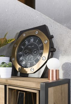 Clock Watch from COCO maison looks like a real watch for your wrist!