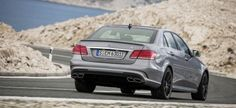 Mercedes-Benz has finally unveiled the new Mercedes-Benz E 63 AMG, including a new 'S-Model' higher performance variant. Like the current version, the new model will be available in sedan and estate wagon forms. Gta, Mercedes Benz E63 Amg, Benz E Class, Motor Car, Luxury Cars, Cool Pictures, Vehicles, Galleries, Trucks