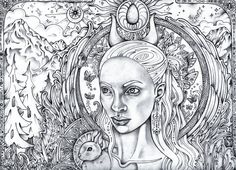 314 best trippy psychedelic coloring pages images on pinterest