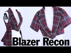 Back to School Style Blazer Recon, ThreadBanger How To--another reason why I need to go back to that thrift shop and get like a million blazers.