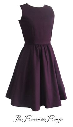 Juana Ballerina Dress in Plum  Our favorite staple ballerina dress is back! This style uses cotton stretch fabric and has hidden side pockets. The fit is absolutely amazing! A style you'd definitely want to wear again and again! P2995
