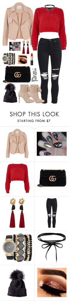 Patrizzia08.01.2018a by patrizzia on Polyvore featuring moda, River Island, AMIRI, MICHAEL Michael Kors, Gucci, Jessica Carlyle, MANGO and patrizziapolyvore
