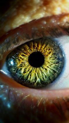 Mother's eye by Dávid Detkó on - shot with Nokia + Minolta MD Rokkor Beautiful Eyes Color, Pretty Eyes, Cool Eyes, Photo Oeil, Rare Eye Colors, Look Skater, Foto Macro, Eye Close Up, Eyes Artwork