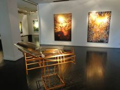 Exposición VISIONES, Susana Rodríguez y exposición ESCULTURAS, Pájaro Rodríguez. En Galería Rubbers Internacional.