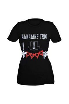 Alkaline Trio Top Hat Girls T-Shirt