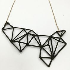 Geometric influenced pendant with 3D form. Excellent craftsmanship and design . Jewelry 1 #fitchjewelry