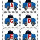 Police Car Capital Alphabet Flashcards from Lorie Duggins at Teachers Pay Teachers- $1