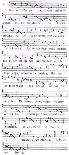 Chant: Salve Regina (Dominican Rite)