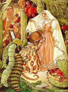 Thumbelina llustration by Barbara C. Freeman story by Hans Christian Andersen