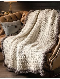 Crochet Patterns - Fur Throw Crochet Pattern