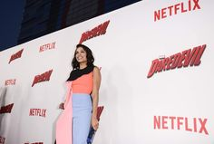 Rosario Dawson at the Netflix Daredevil Premiere!  production coordination and lighting by #ELS