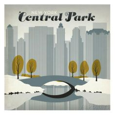 Central Park Square Posters by Anderson Design Group - AllPosters.ca - $17.99 CAD