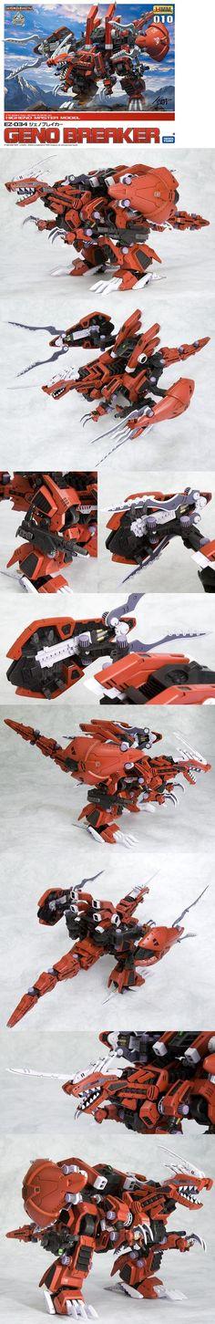 Zoids HMM Model Kit - Geno Breaker.jpg (600×3690)
