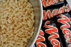 Crispy Mars taart1