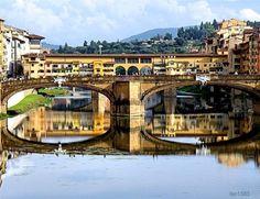 Золотой мост Понте Веккьо во Флоренции - Путешествуем вместе