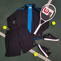 Layer up for a fall match with the new Fila tennis Break Point Collection