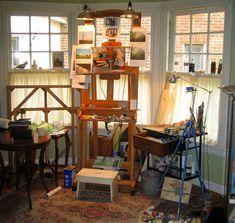 Beautiful Things are Love and Dreams : Os espaços de trabalho dentro de casa
