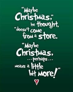 It feels like I've seen The Grinch everywhere this Christmas. Happy Christmas Eve!! :)