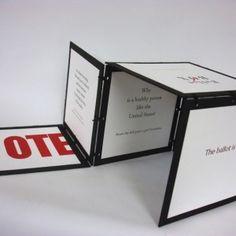 Bonnie Thompson Norman – Ballot BOX – (purchase award) - $65