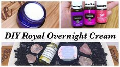 DIY Royal Overnight Face Cream With Young Living Essential Oils- Anti Aging Recipe Anti Aging Facial, Anti Aging Tips, Anti Aging Cream, Essential Oils For Skin, Young Living Essential Oils, Anti Aging Treatments, Spa Treatments, Anti Aging Moisturizer, Diy Beauty
