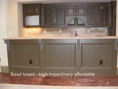 Custom bar in Atlanta basement remodeling project.  Custom bars are often found in basement refinishing projects in Atlanta, GA. https://atlantabasementdesign.com 404-971-7400