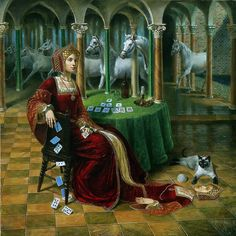 Heritage of the Future by Michael Cheval - it's what the Tudor Time Warpe is all about.