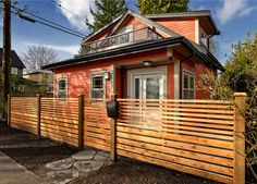 Exterior of Dunbar Lane House, Vancouver