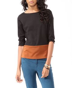 Womens knit top, crop top and long sleeve | shop online | Forever 21 - 2017306762