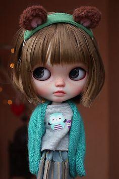 Renata Nomad, Vainilladolly Blythe doll Custom OOAK in Juguetes, Muñecas y…
