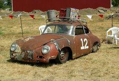 Rusted Porsche Speedster