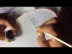 Como diluir la pintura para pintar ojos con cony - YouTube