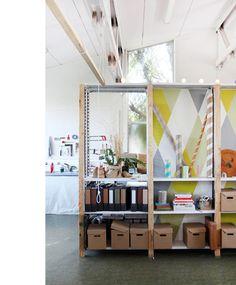 Steller Atelier architecture studio at Schoolhouse Studios, Aust.