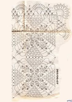 Use imgbox to upload, host and share all your images. It's simple, free and blazing fast! Crochet Motif, Crochet Doilies, Knit Crochet, Crochet Patterns, Table Centers, Crochet Tablecloth, Mandala, Chart, Stitch